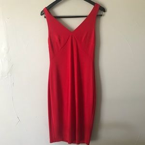 BAILEY 44 Red Slow Dance Ruffle Back Dress